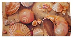 August Shells Beach Towel