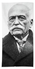 Beach Towel featuring the photograph Auguste Escoffier (1847-1935) by Granger