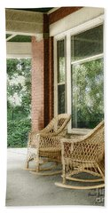 Aunt Jane's Porch Beach Towel