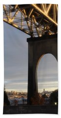 Aurora Bridge Seattle Washington  Beach Towel