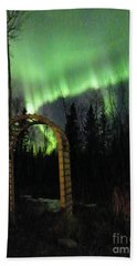 Auroral Arch Beach Towel by Brian Boyle