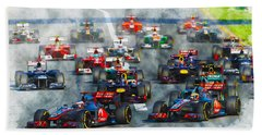 Australian Grand Prix F1 2012 Beach Sheet