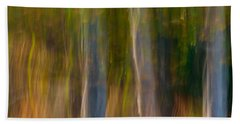 Autumn Abstract Beach Sheet