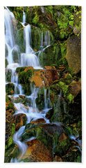 Autumn Along Summit Creek Beach Towel