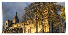 Autumn At Dunfermline Abbey Beach Towel