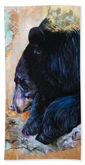 Autumn Bear Beach Towel