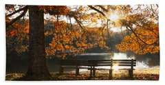 Autumn Beauty Beach Towel