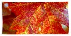 Autumn Blaze Beach Sheet