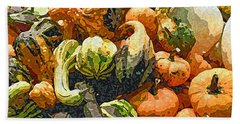 Autumn Bounty Beach Towel