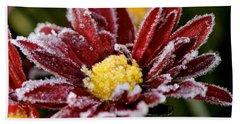 Autumn Frost Beach Towel by Tiffany Erdman