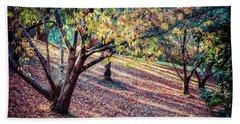 Autumn Grove Beach Towel