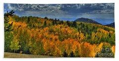 Autumn In Colorado Beach Sheet