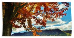 Autumn In Minnesota Beach Towel
