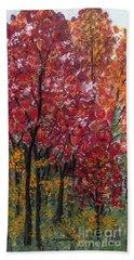 Autumn In Nashville Beach Towel