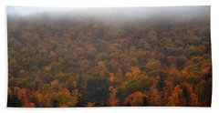 Autumn In New Hampshire Beach Towel