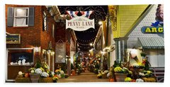 Autumn In Penny Lane - Rehoboth Beach Delaware Beach Towel