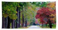 Beach Sheet featuring the photograph Autumn In The Air by Cynthia Guinn
