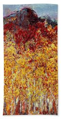 Autumn In The Pioneer Valley Beach Towel
