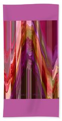 Autumn Leaves 1 - Abstract Autumn Leaves - Photography Beach Towel