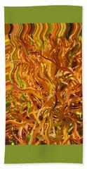 Beach Sheet featuring the photograph Autumn Leaves 5 by Brooks Garten Hauschild