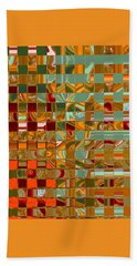 Autumn Leaves 8 - Abstract Images - Manipulated Photograph Beach Towel