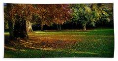 Autumn Beach Towel by Nina Ficur Feenan