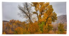 Autumn Rain In Chimayo Beach Towel