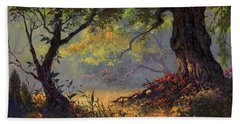 Autumn Shade Beach Towel