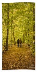 Autumn Song Beach Towel