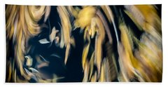 Autumn Storm Beach Towel by Steven Milner
