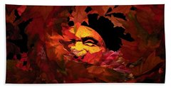 Autumn Sun Beach Towel
