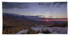 Autumn Sunset Over Sugarloaf Mountain Beach Towel
