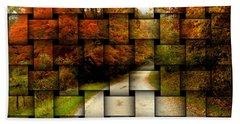 Autumn Weave Beach Sheet