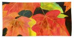 Autumn's Glow  Beach Towel