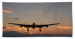Avro Lancaster - Dawn Return Beach Towel