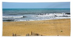 Awaiting The Storm - Sandbridge Virginia Beach Towel
