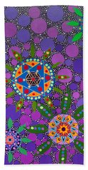 Ayahuasca Vision - The Healing Power Of Plants Beach Towel
