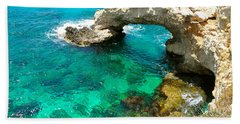 Ayia Napa In Cyprus Beach Towel