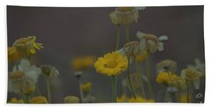 Beach Towel featuring the photograph Az Flowers by Rod Wiens
