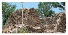 Aztec Ruins National Monument Beach Towel