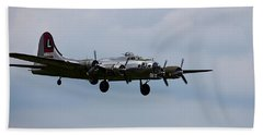 B-17 Yankee Lady Beach Towel