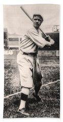Babe Ruth Beach Towel by Bill Cannon