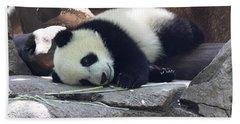 Baby Panda Beach Towel