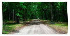 Back Roads Of South Carolina Beach Towel