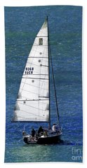Beach Towel featuring the photograph Backlit By The Sun by Sue Melvin