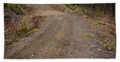 4x4 Logging Road To Adventure Beach Towel