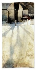 Backyard Beach Towel by Diana Angstadt