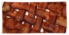 Bacon Weave Beach Towel