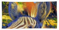 Bad Fur Day Sold Beach Sheet