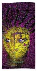 Bad Hair Day Beach Towel by Irma BACKELANT GALLERIES